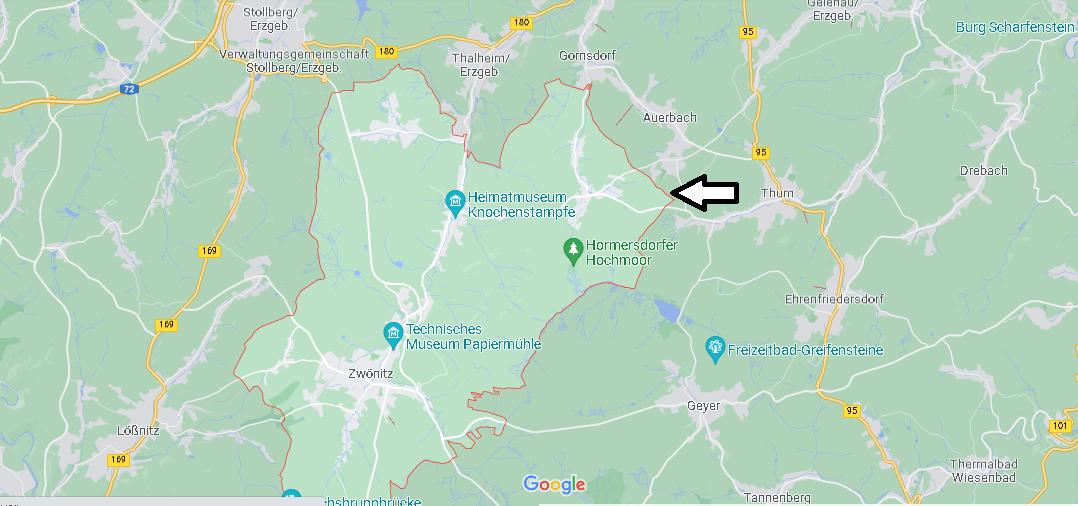 In welchem Bundesland liegt Zwönitz