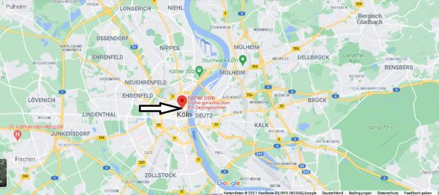 Wo Liegt der Kölner Dom