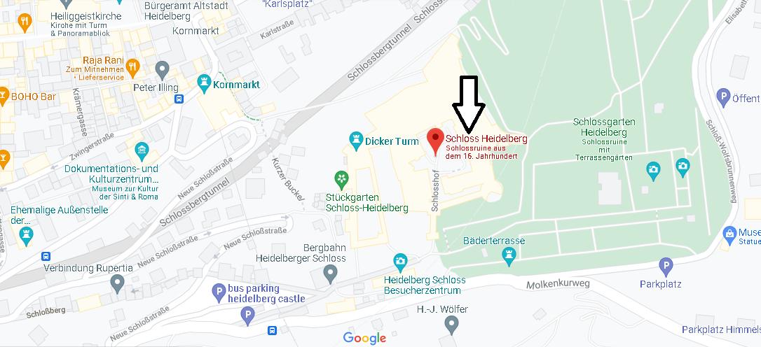 Wo ist Heidelberg