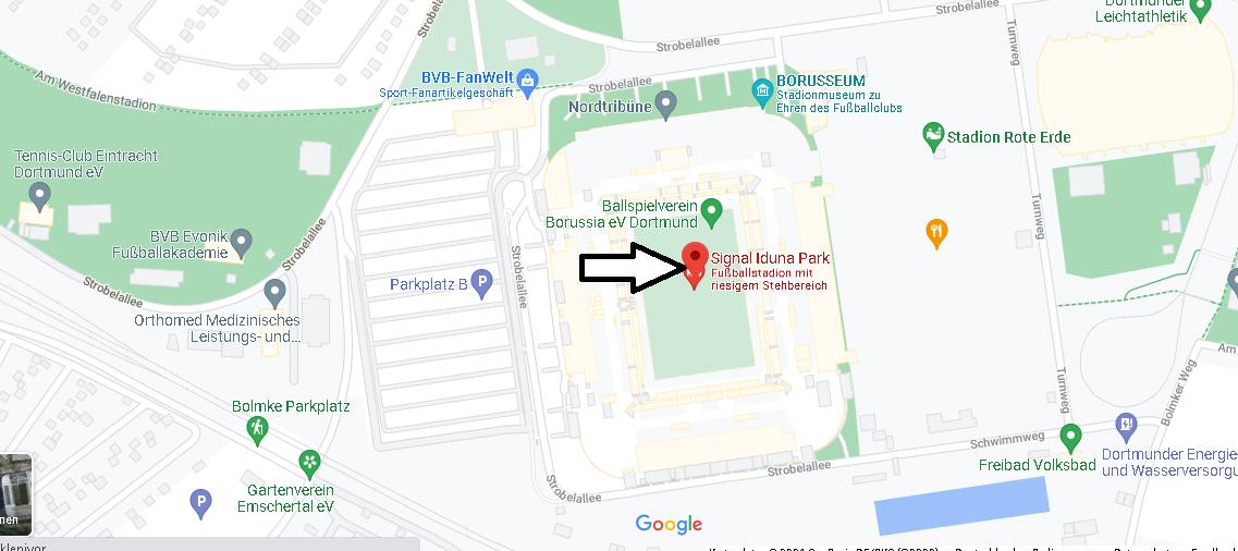 Wo ist Signal Iduna Park