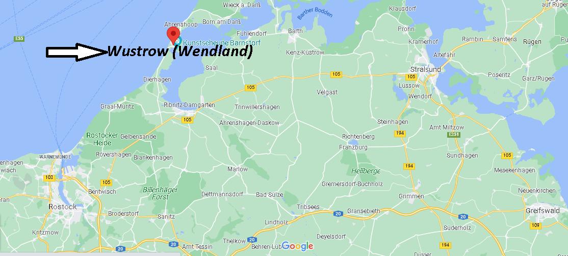 Wo ist Wustrow (Wendland) (Postleitzahl 29462)
