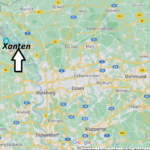 Wo ist Xanten (Postleitzahl 46509)