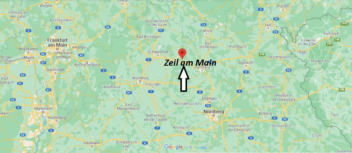 Wo ist Zeil am Main (Postleitzahl 97475)