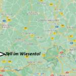 Wo ist Zell im Wiesental (Postleitzahl 79669)