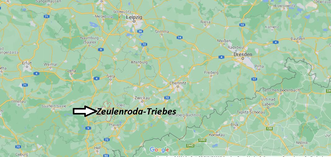 In welchem Bundesland liegt Zeulenroda-Triebes