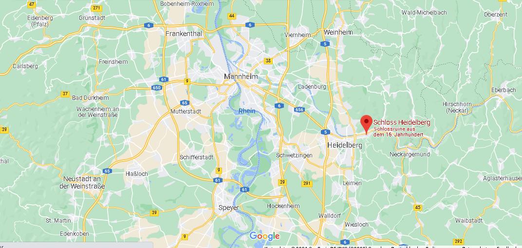 Wo liegt Heidelberg