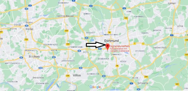 Wo liegt Signal Iduna Park
