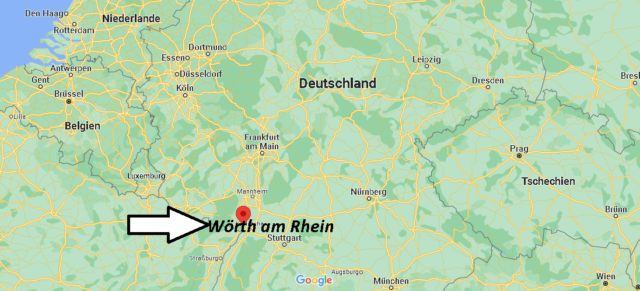 Wo liegt Wörth am Rhein