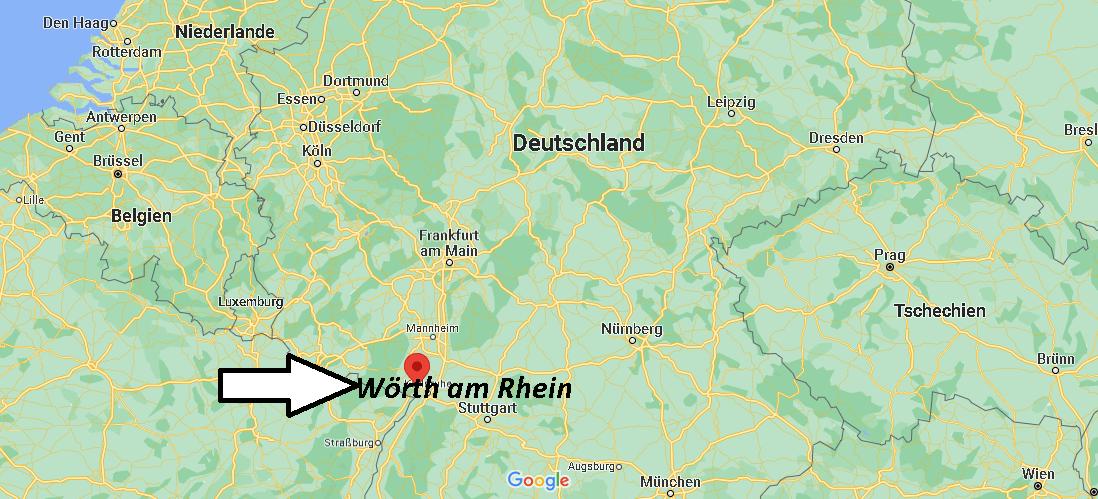 In welchem Bundesland liegt Wörth am Rhein