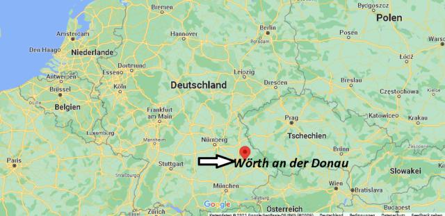 Wo liegt Wörth an der Donau