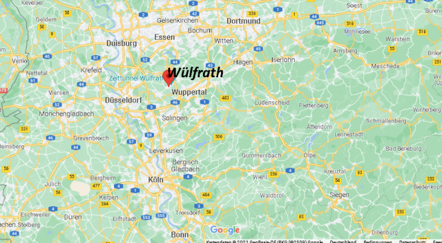 Wo liegt Wülfrath