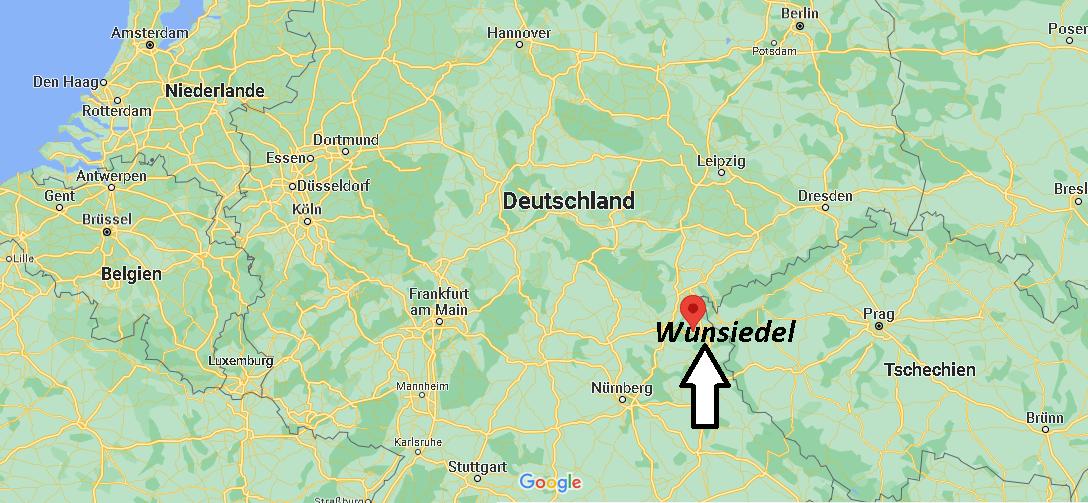 Wo liegt Wunsiedel