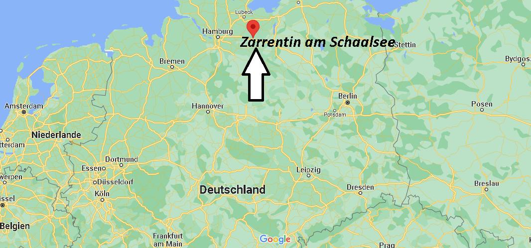 Wo liegt Zarrentin am Schaalsee