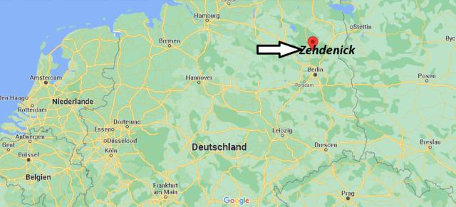 Wo liegt Zehdenick