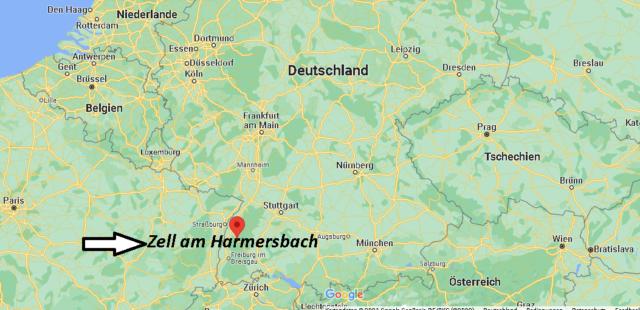 Wo liegt Zell am Harmersbach