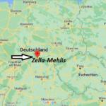 Wo liegt Zella-Mehlis