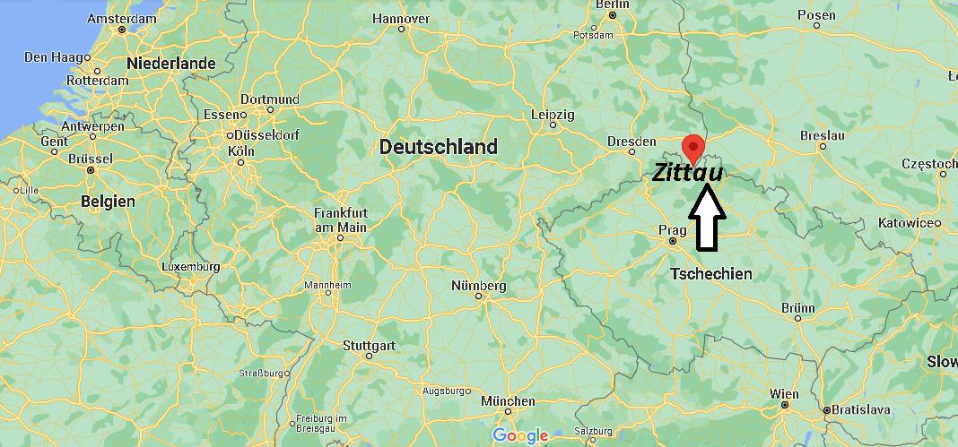 Wo liegt Zittau