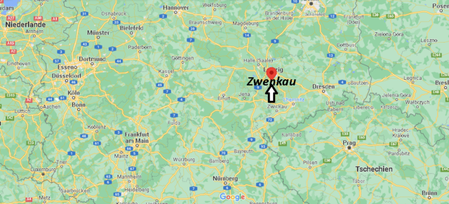 Wo liegt Zwenkau