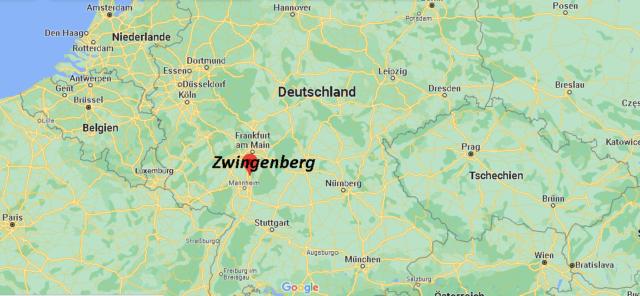 Wo liegt Zwingenberg