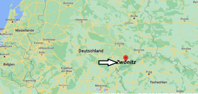 Wo liegt Zwönitz
