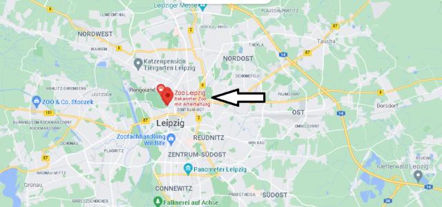 Wo liegt der Leipziger Zoo