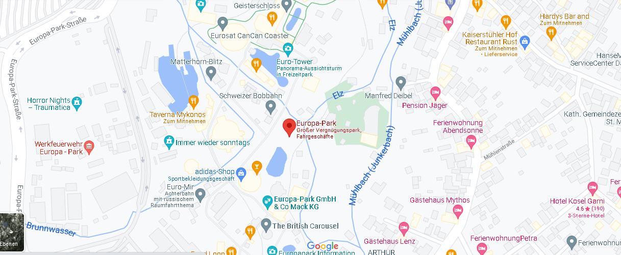 Wo ist Europa-Park