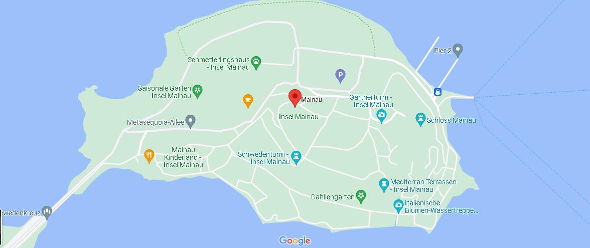 Wo ist Insel Mainau