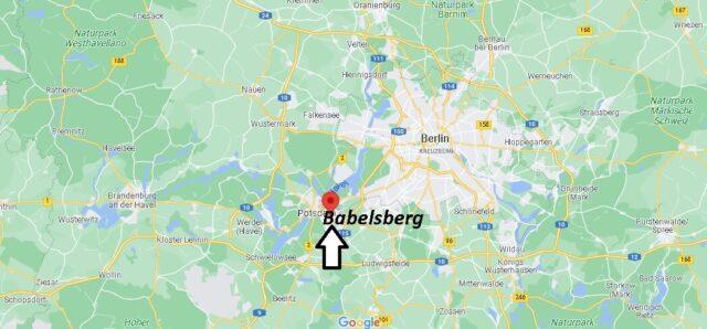 Wo liegt Babelsberg