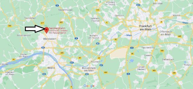 Wo liegt Die Nerobergbahn