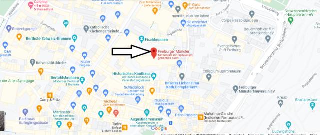Wo liegt Freiburger Münster