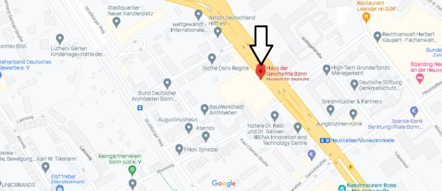 Wo liegt Haus der Geschichte Bonn
