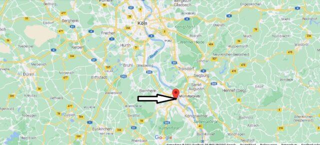 Wo liegt Münsterplatz