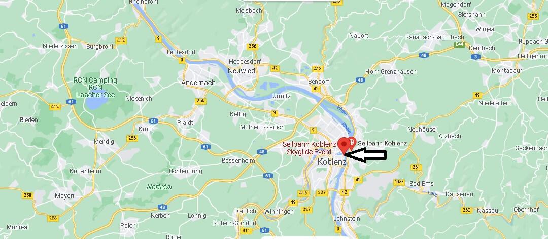 Wo liegt Seilbahn Koblenz