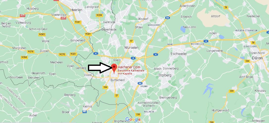 Wo liegt der Aachener Dom