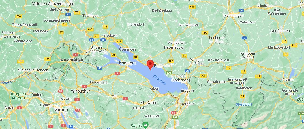 Wo liegt der Bodensee