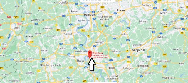 Wo liegt der Rheinturm